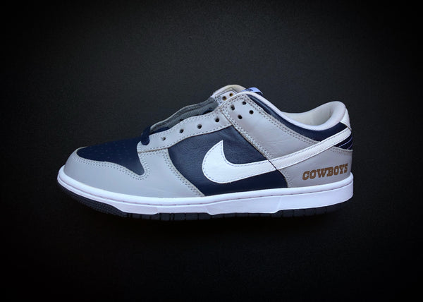 "NIKE DUNK LOW ID ""NAVY - GREY / COWBOYS"" (2013)"
