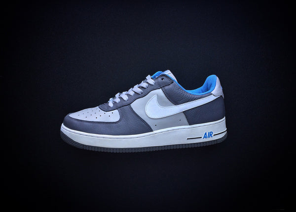 "NIKE AIR FORCE 1 LOW ""TWISTED PREP - GRAPHITE"" (2004)"