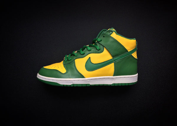 "NIKE DUNK HIGH ""BRAZILS"" (2003) - ATLAS"