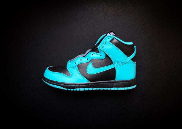 "NIKE DUNK HIGH WMNS ID ""TEAL/BLACK"" (2015) - ATLAS"