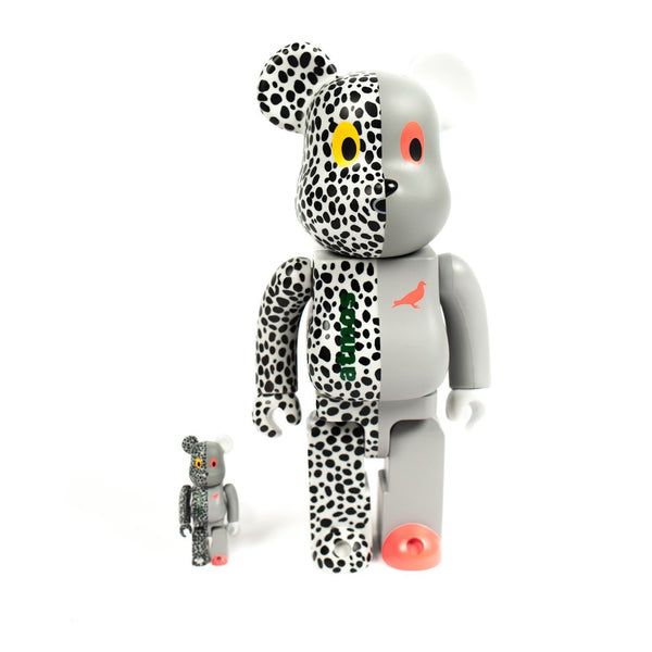 STAPLE x ATMOS x MEDICOM TOY 400% & 100% BEARBRICK SET - ATLES