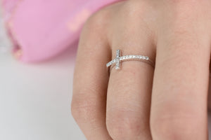 communion cross ring