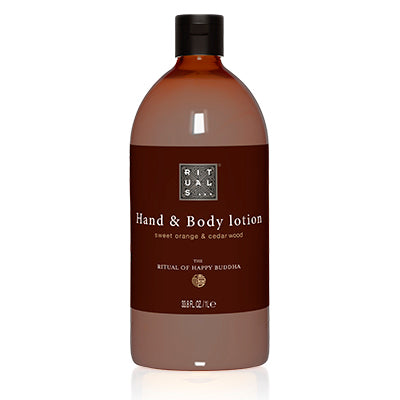 The Ritual of Happy Buddha -  Hand & Body Lotion Refill 1L