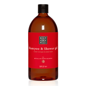The Ritual of Happy Buddha - 2 in 1 Hair & Body Wash Refill 1L