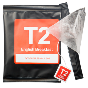 T2 English Breakfast Tea in Sachet