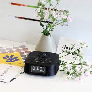 Homtime Bluetooth Radio Alarm Clock