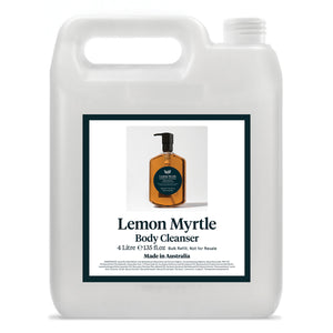 Leif Lemon Myrtle Body Cleanser, 4L