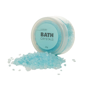 Luxury Bath Crystals, 60g tub