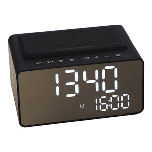 JVD Stereo Music & Alarm Clock - Wave