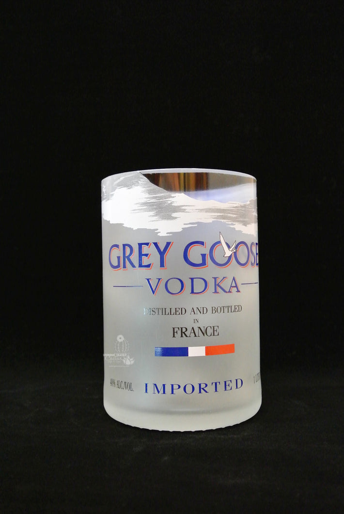 Grey Goose Vodka Drinking Glass Tumbler - Grey Goose Gifts - Vodka Gifts