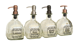 1 Patron Soap Dispenser - Black Lettering