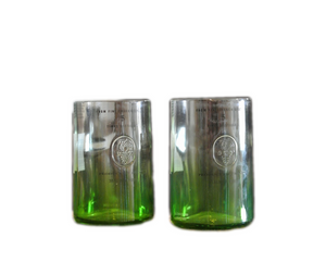 Green Apple Ciroc Glasses