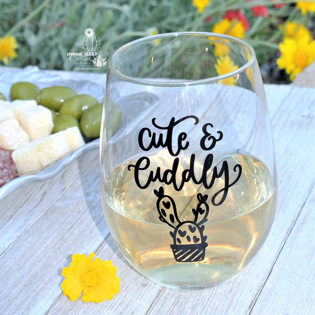 Funny Cactus Gift and Wine Gift -