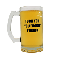 Fuck You You Fuckin Fucker Beer Lover Gift for Coworker Fathers Day Boyfriend College Student