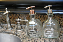 Patron Hand Soap Dispensers - Dish Soap Bottle - Glass Soap Dispenser