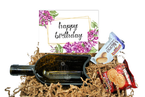 Happy Birthday Gift Box For a Wine Lover - Birthday Gift for Mom