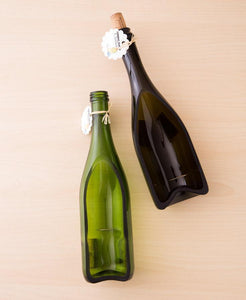 SET OF 2 Wine Bottle Serving Trays - Great gift for a Wine Lover - Christmas Gift