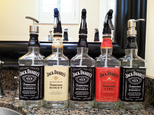 Jack Daniels Whiskey Soap Dispenser