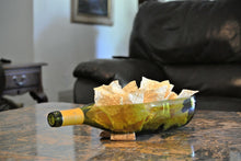 LARGE Wine Bottle Succulent Planter or Serving Dish - Wine Gifts