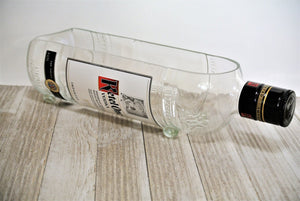 LARGE Serving Dish Candy Dish made from Ketel One Vodka Bottle - Man Cave Husband Gift