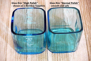 Blue Pinnacle Vodka Glasse