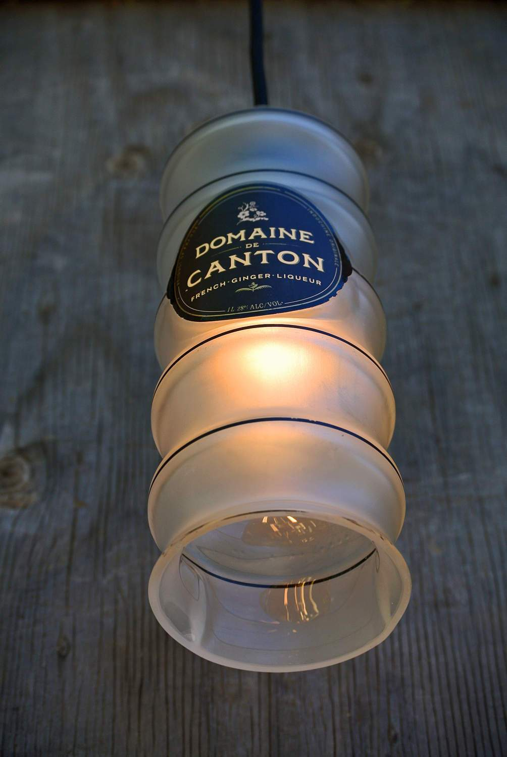 French Bottle Lamp