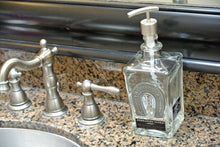 Horseshoe Design Glass Soap Dispenser - Soap Dispensers for the Bathroom - Dish Soap for Kitchen
