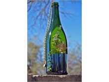 SALE- Wine Bottle Hanging Planter for a Wine and Succulent Lover - Great Gift