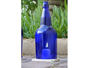 Cobalt Blue Wine Bottle