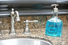 Patron Soap Dispensers - Black Lettering - ONE Patron Dish Soap Dispenser Bottle