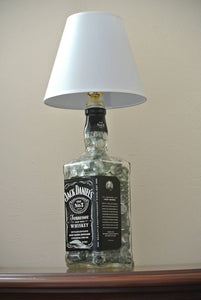 Alcohol Bottle Lamp