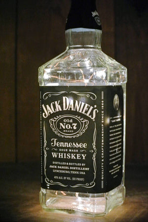 Jack Daniels Lighted Bottle