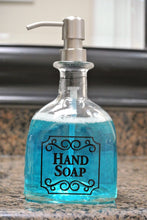 Patron Soap Dispensers - Black Lettering
