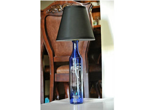 Milagro Tequila Bottle Lamp  - Lighted Bottle