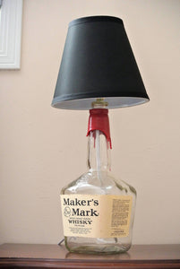 Makers Mark Glass Bottle Lamp  XL