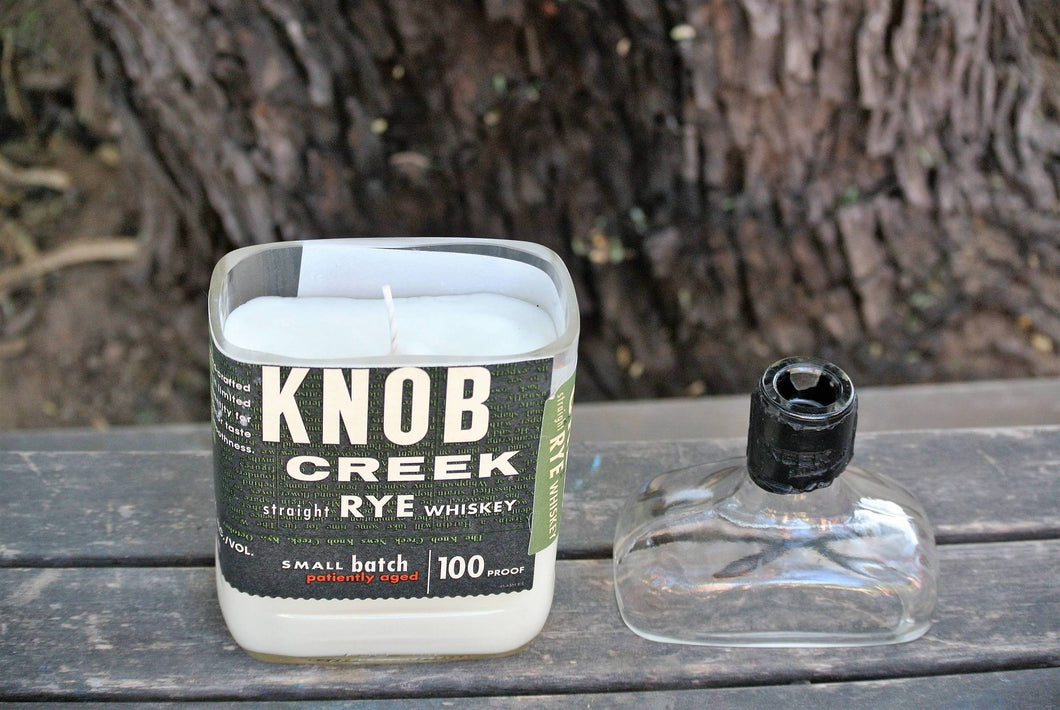 Knob Creek Rye Candle Gift - Whiskey Gifts