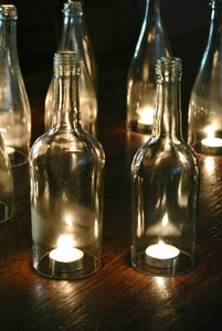 Wine Bottle Candle Cover Gift