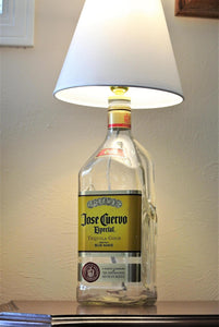 Jose Cuervo Bottle Lamp