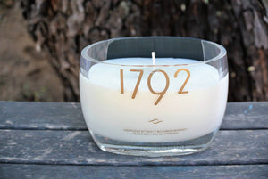 1792 Kentucky Bourbon Whiskey Candle Gift By Looking Sharp Cactus