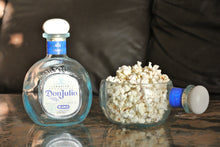 Don Julio Candy Dish For Tequila Lover - Blue Glass Cut Bottle