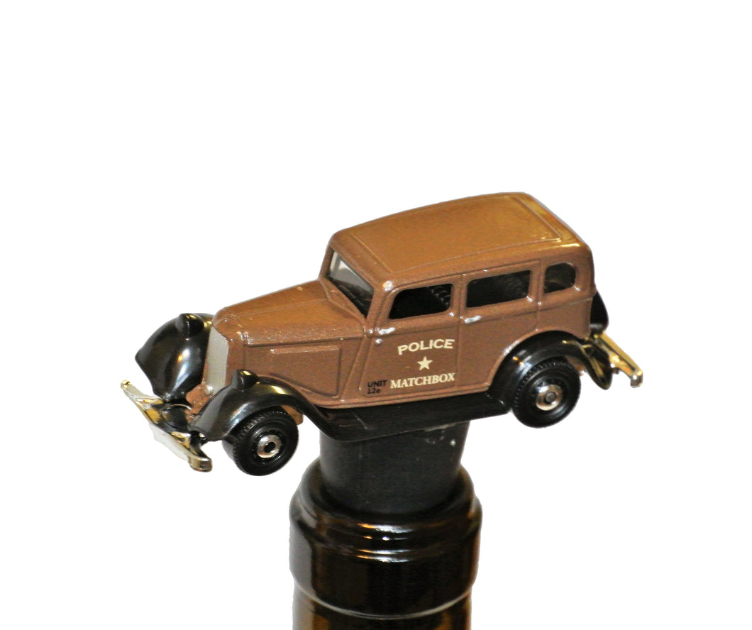 Wine Bottle Stopper - 1933 Police Car - Wine Gifts
