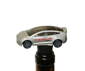 Wine Bottle Stopper - Tesla Unique Car Collector Wine Gift