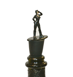 Catwoman Wine Bottle Stopper - Superhero Gift for Superhero Girls
