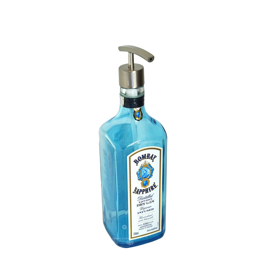 Bombay Sapphire Soap Dispenser - Gin Lover Gifts