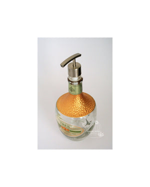 Classy Mexican Glass Soap Dispenser - Mexico Bottle Decor