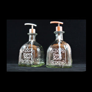Patron Tequila Gift Set - 2 Patron Soap Dispensers