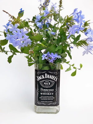 Jack Daniels Vase - Flower Vase Whiskey Gifts