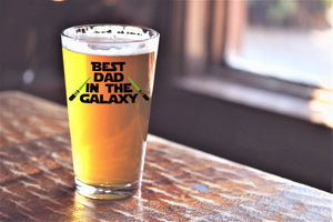 Best Dad in the Galaxy Beer Lover Gift for Dad - Star Wars Themed
