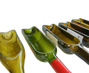 DIY Version - 1 Cut Wine Bottle - Wine Gift - Bar Decor - For Wine Rack or Wine Table
