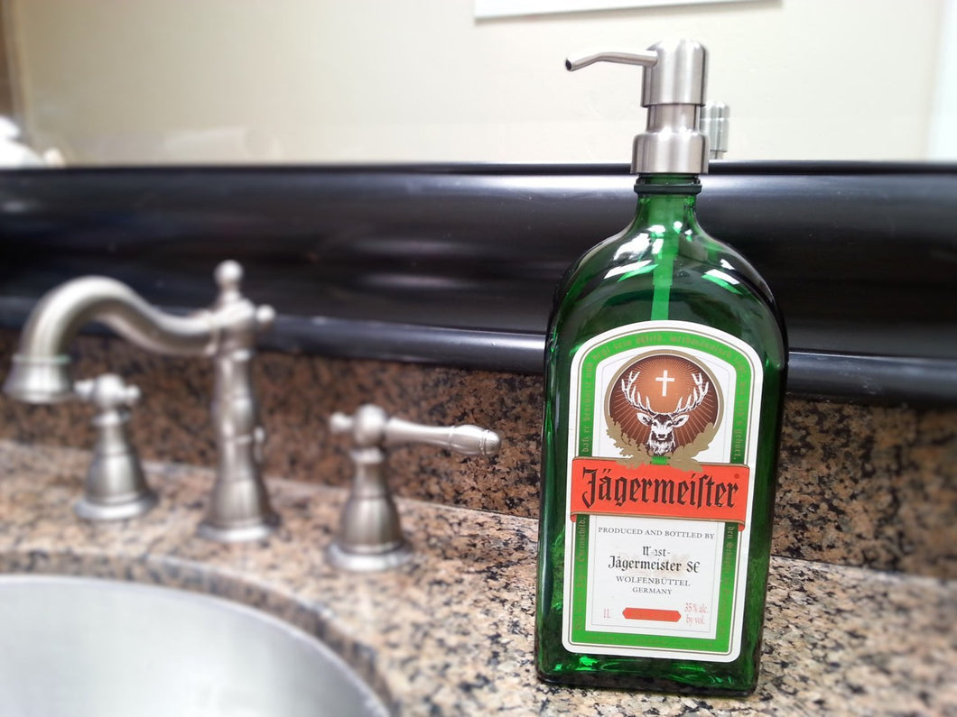 Jagermeister Soap Dispenser
